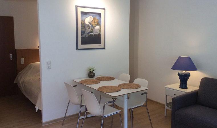Huiskamer in Appartement Kleinwalsertal Oostenrijk